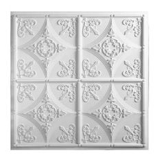 Shop Great Lakes Tin Toledo Unfinished 2-foot x 2-foot Lay-In Ceiling Tile (Carton of 5) - Overstock - 10695062
