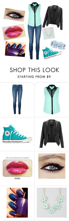 """""""Untitled #25"""" by scarlet-moon-98 ❤ liked on Polyvore featuring Vero Moda, Converse, Lipsy and Full Tilt"""
