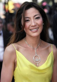 Michelle Yeoh...she is a beauty