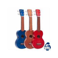Os ukuleles Mahalo têm um formato inspirado no ukulele havaiano tradicional. O corpo e o braço são em sengon. Uma boa relação qualidade/preço.
