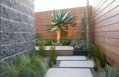 jardin moderne de design original