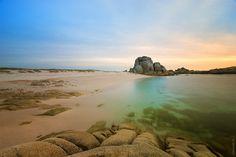 Playa de Con Negro, San Vicente do Grove, Pontevedra - Spain