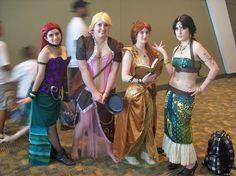 steampunk Disney Princesses