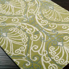 Surya Candice Olson Modern Classics Chartreuse Hand Tufted Rug CAN-1958 @LaylaGrayce