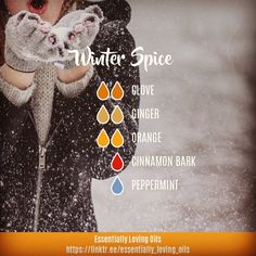 "126 Likes, 35 Comments - Essential Oil Mentor/Educator (@essentially_loving_oils) on Instagram: ""Winter Spice - Diffuser Blend . ""I love the scents of winter! For me, it's all about the feeling…"""