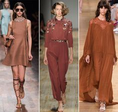 Spring/ Summer 2015 Color Trends: Marsala Brown