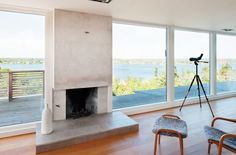 Functional Minimalist House With Great Views For A Large Family
