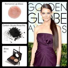There were so many glamourous looks in the Golden Globes. Get Katie Holmes' look with Mia Mariu Mineral Makeup! http://www.miamariu.com/en/index.php/products