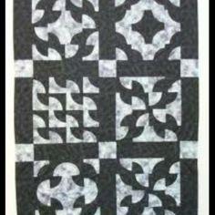 Drunkards path 4 pattern variation.