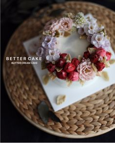 Done by my student  - Buttercream flower cake  (베러 심화클래스/Advance class) www.better-cakes.com  Any inquiries about BETTER CLASS, Plz contact me through LINE or Email. Mailbettercakes@naver.com Linebetter_cake FacebookBetter Cake Kakaotalkbettercake  #buttercream#cake#베이킹#baking#bettercake#like#버터크림케익#베러케이크#cupcake#flower#꽃#sweet#플라워케이크#koreabuttercream#wilton#앙금플라워#디저트#buttercreamcake#dessert#버터크림플라워케이크#follow#떡케익#koreancake#beautiful#윌튼#instacake#꽃스타그램#앙금플라워떡케익#instafood#flowercake