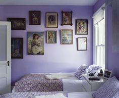 lila Schlafzimmer mit Dachschräge   deko   Pinterest   Lila ...
