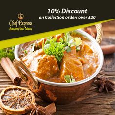 Chef Express, top-ranked Indian takeaway in New Greens, offers delicious Indian food for you to enjoy. Our first-class service creates the unrivalled ambience for the perfect Indian cuisine experience, ensuring that all have the opportunity to enjoy the perfect cuisine. See the full menu and offers of this Indian takeaway in New Greens and select the best deal for you. Place your order now in just a few clicks. You can pay via cash or card. Indian Food Recipes, Ethnic Recipes, St Albans, New Green, Opportunity, Curry, Menu, Top, Menu Board Design