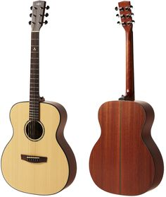 Sting F300 of HEX Instruments, Orchestra Model(OM) body and Soild top sitka spruce, African sapele side and back acoustic guitar.