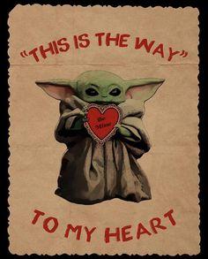 day memes baby yoda I made a Baby Yoda valentine card Yoda Drawing, Yoda Images, Yoda Quotes, Yoda Meme, Yoda Cat, Star Wars Meme, Star Wars Baby, Dc Movies, Marvel