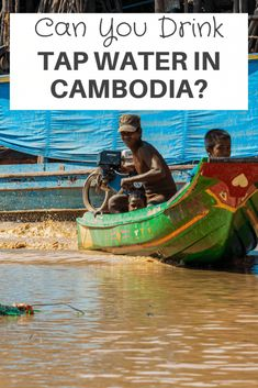Can you drink tap water in Cambodia? The question of whether can you drink tap water in #Cambodia is a common question asked but to answer the question it is NOT advised to drink tap #water in Cambodia this is due to their lack of infrastructure. Let us explore this more! #tapwater #travel #traveling #backpacking Cambodia Beaches, Cambodia Travel, Countries To Visit, Places To Visit, Water Branding, Phnom Penh, Water Quality, Water Treatment, Angkor Wat