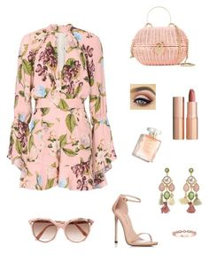 """Vanilla"" by madonna-kazaryan on Polyvore featuring мода, Nicholas, Ben-Amun, Stuart Weitzman, Chanel, Victoria Beckham и Charlotte Tilbury"