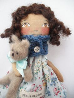 Martina Muffinpie and Theo bear by blueberryfields on Etsy, $40.00