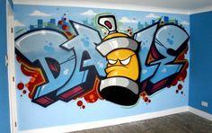 graffiti wallpaper spraycan