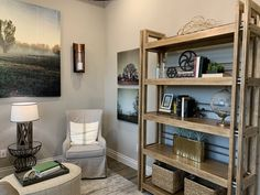 Style your shelves to sell. Home Staging Companies, Repurposed, Real Estate, Shelves, Simple, Bed, Furniture, Things To Sell, Ideas
