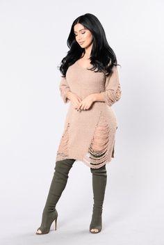 99b01f73a6f5 Lionheart Sweater - Mocha