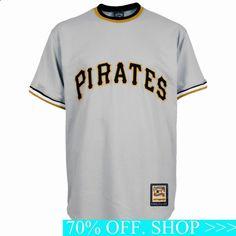 MLB Pittsburgh Pirates Men's Cooperstown Throwback Replica Jersey, Gray Football Gear, Baseball Jerseys, Sports Team Apparel, Mlb Uniforms, Pittsburgh Pirates, Nike Women, Mens Tops, Loyalty, Gray