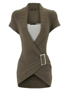 wrap around sweater!!!! If anyone can tell me where i can get one i will owe you one!