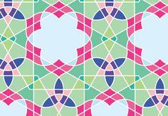 Geometric Design: How to Draw a Flowery Tiling Pattern  Design Envato Tuts Design & Illustration