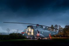 Glamp in a helicopter at this upscale Scottish retreat - Curbedclockmenumore-arrow : Ready for take off?