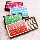 Custom Personalized Matches - set of 50 - Personalized Matches - Personalized Wedding Favors - Wedding Favors - Wedding Favors & Party Supplies - Favors and Flowers