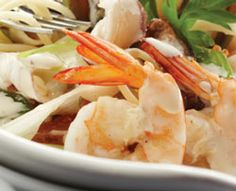 Recipe: Pasta with Prawns in White Wine Butter Sauce | PCC Natural Markets