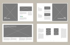 print graphic design portfolio inspiration - Google Search