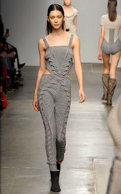 Claire Straker -instead of the fair isle raglan v-neck jumpsuit?