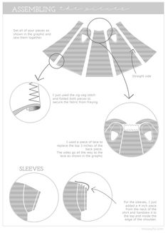 T-Shirt Refashion-love the sleeve idea