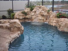 Central Florida Custom Pools - ArtificialEnvironmentsInc.com Outdoor Garden Decor, Outdoor Ideas, Backyard Ideas, Amazing Swimming Pools, Cool Pools, Simpson Bay, Custom Pools, Dream Pools, Central Florida