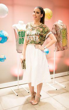Look do dia: Torcida Fashion Riachuelo por Camila Coutinho em maio 14, 2014