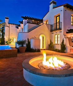 Spanish style homes are still my favorite.