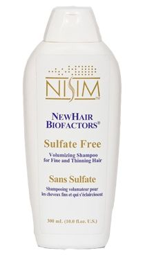 Sulfate Free - NewHair Biofactors Shampoo 10 oz/300 ml  This is same great Hair Loss shampoo  but does not contain any SLS