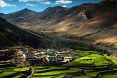 Pueblos, Pueblo en el Himalaya