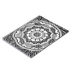 Individuelles Tagebuch mit Mandala Spiral Notizbuch Permanent Marker, Markers, Mandala, Cards, Kunst, Diary Book, Notebook, Sharpies, Maps