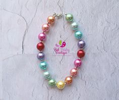 A personal favorite from my Etsy shop https://www.etsy.com/listing/242141926/baby-girl-chunky-necklace-rainbow-bubbleBaby Girl Chunky Necklace, Rainbow Bubble Gum Necklace, Big Beads Bubblegum Necklace, Photo Prop Necklace, Rainbow Birthday party Cake smash