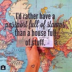 travel, passport, and world Bild
