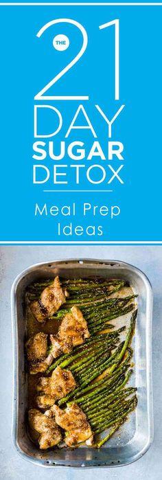 21 Day Sugar Detox Meal Prep Ideas