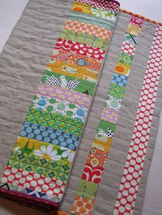 Baby quilt back by @Rita at #redpepperquilts