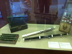 Two of Frederick the Great's flutes made by Quantz