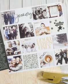 don't let stories get left behind Project Life Album, Project Life Layouts, College Schedule, Creature Of Habit, Ali Edwards, Leave Behind, Title Page, Filing System, Family Album