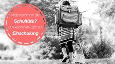 Was kommt in die Schultüte? 30 Geschenke-Tipps zur Einschulung