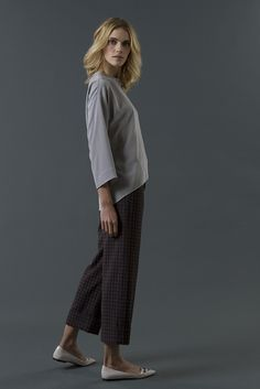 shirt charlene pant mable FW 15-16 collection by QL2 www.quelle2.it #fashion, #women, #apparel