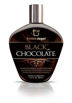 Brown Sugar BLACK CHOCOLATE 200x Black Bronzers! http://www.lotionsource.com/tan-incorporated-brown-sugar.html