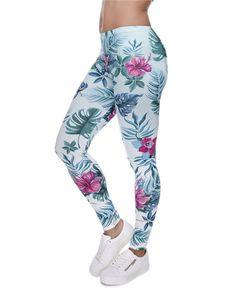 Mandala Mint Ombre 3d Floral Women's Leggings Seamless Brand Girls New Fashion Basic Leggins Stretch Fitness Feminino Leggings
