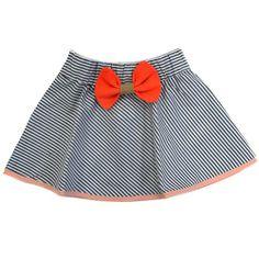 Bang Striped Skirt